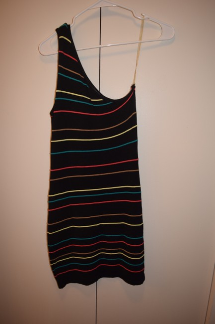 Forever 21 short dress Black & Multi on Tradesy