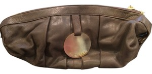 Gustto Brown Clutch