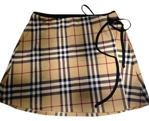 Burberry Burberry small sarong with black trim