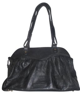 BCBGMAXAZRIA Tote Shoulder Satchel in BLACK