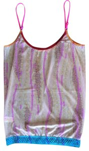 Juana De Arco Mesh Top Multi-Color