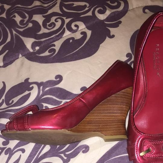 Kenneth Cole Red Wedges