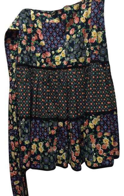 Anthropologie Skirt Floral