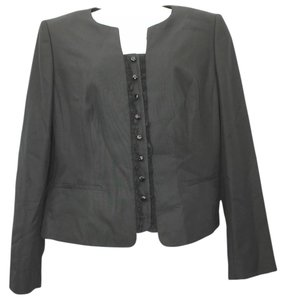 Rena Lange Black Silk Jacket Blazer