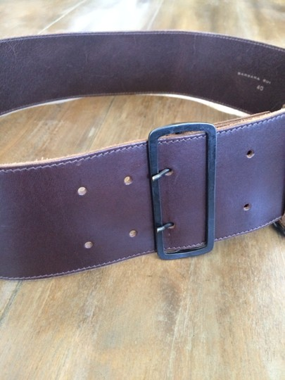 Barbara Bui Barbara Bui Thick Leather Belt
