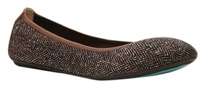 Hush Puppies Brown Tweed Flats
