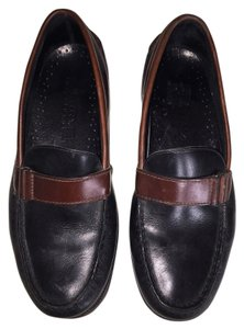Sperry Black with Brown Flats