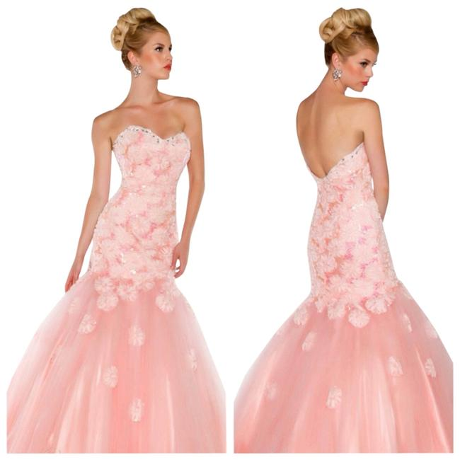 Mac Duggal Couture Evening Ball Gown Gown Size 6 Sleeveless Dress