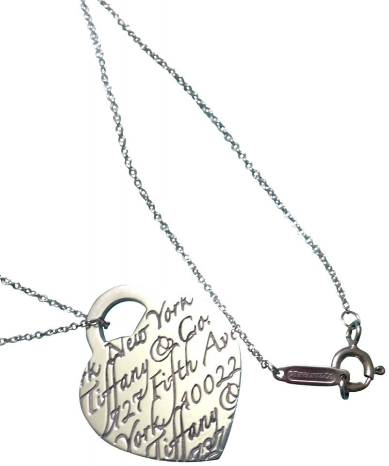 Tiffany Amp Co 925 Sterling Silver Necklace Tiffany Amp Co
