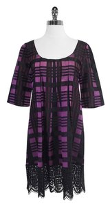 Anna Sui short dress Plaid Trapeze on Tradesy