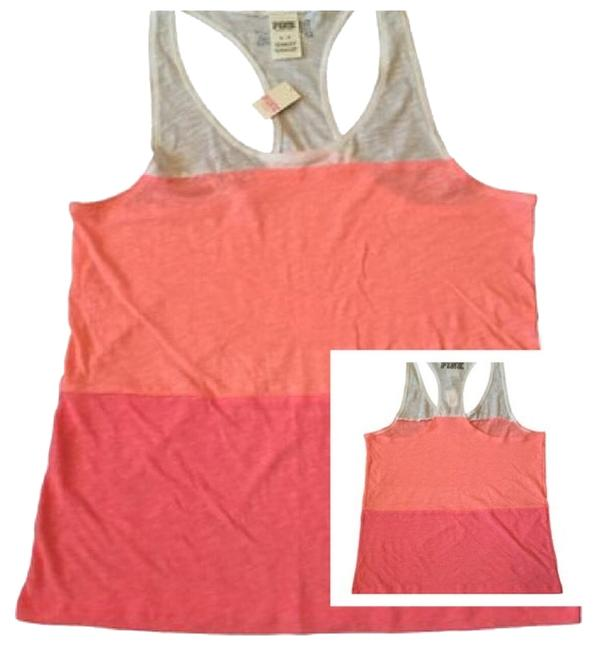 Preload https://item2.tradesy.com/images/pink-multi-color-extreme-racer-back-tank-topcami-size-10-m-4071736-0-0.jpg?width=400&height=650