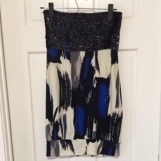Forever 21 Top Blue Black