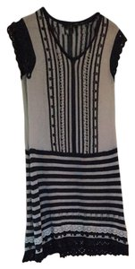 Nanette Lepore short dress Navy Blue And White on Tradesy