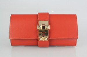 Hermès Sanguine Clutch