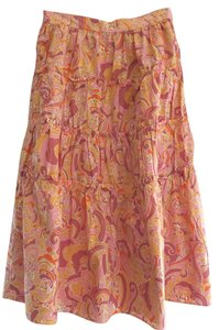 Marc by Marc Jacobs Skirt Multi-Color (Orange / Pink / Beige)