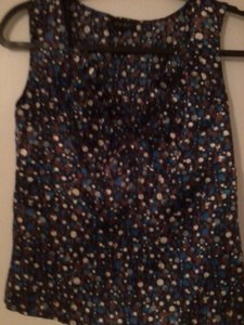 Nine West Top Polka Dot Blouse