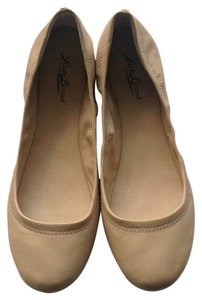 Lucky Brand Nappa Leather Ballet NEW nude Flats