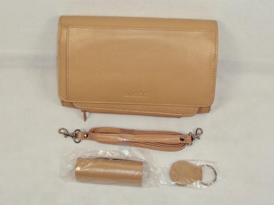 Buxton Buxton Leather Organizer Clutch Wallet with Checkbook Cover and Cell Phone Case.