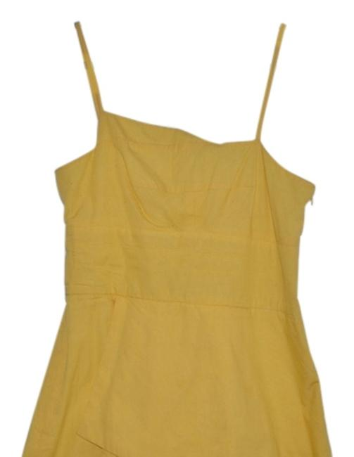 Preload https://item3.tradesy.com/images/yellow-cotton-l-short-casual-dress-size-12-l-4072942-0-0.jpg?width=400&height=650