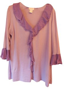 Soft Surroundings Cotton Ruffle Tunic