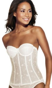 Dominique Dominique Embroidered Corset Bridal Bra 8900 Bone Size DD