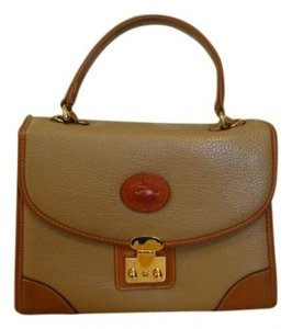 Dooney & Bourke Tote in Tan with brown border