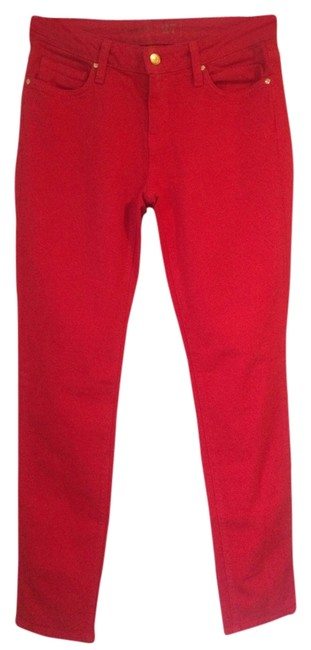 Item - Red Broome Street Colored Denim Straight Leg Jeans Size 27 (4, S)