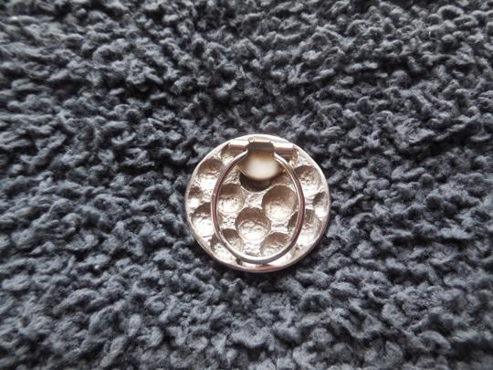 Other Silvertone Hinged Scarf Clip