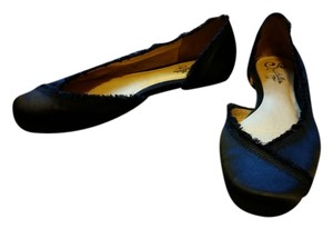 Anthropologie Black Flats