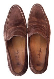Cole Haan Dark Brown Suede Flats