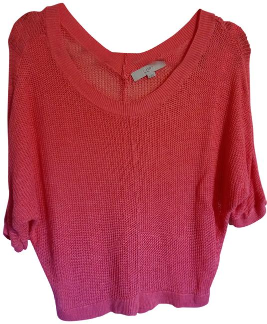 Preload https://item5.tradesy.com/images/ann-taylor-loft-peach-sweaterpullover-size-6-s-407444-0-0.jpg?width=400&height=650