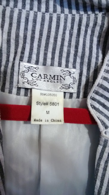 Carmin blue and white Jacket