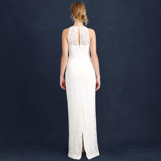J.Crew Ivory Pamela Feminine Wedding Dress Size 2 (XS)