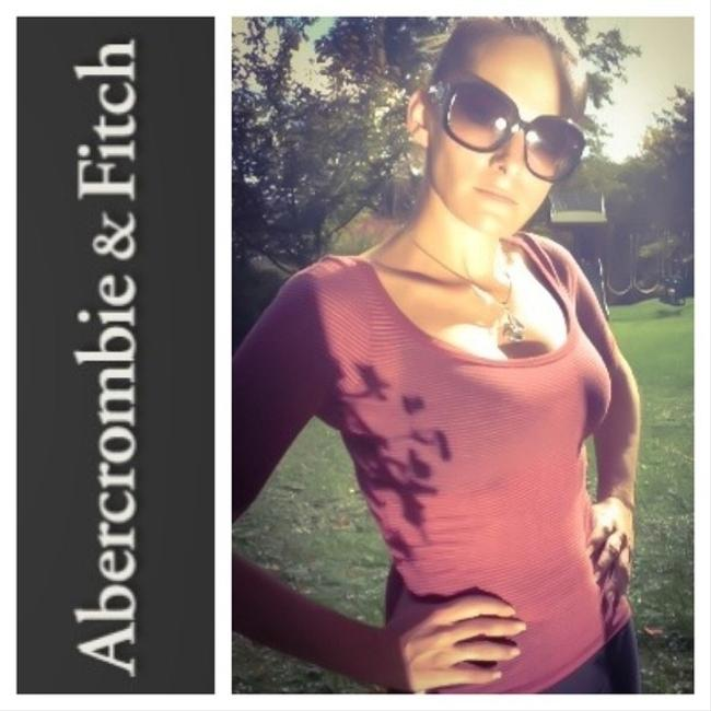Abercrombie & Fitch maroon Halter Top