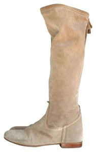 La Canadienne Suede Slouchy beige Boots