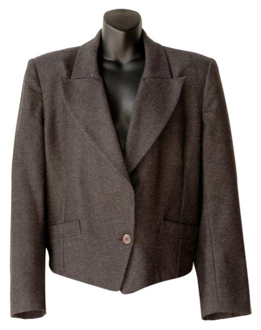 Preload https://item5.tradesy.com/images/sonia-rykiel-wool-double-breasted-charcoal-blazer-4075609-0-0.jpg?width=400&height=650