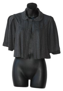 Ella Moss Peter Pan Collar Cropped Cape
