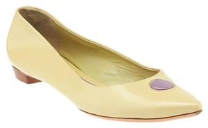 Marc Jacobs Purple Circle Yellow Flats