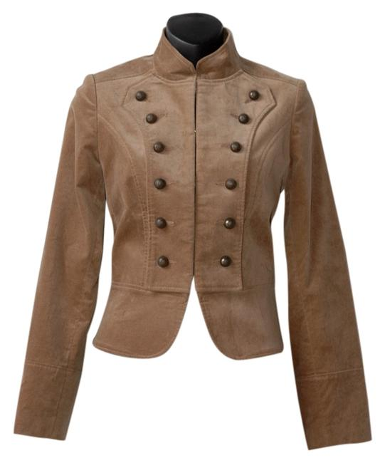 Preload https://item2.tradesy.com/images/teenflo-beige-clasp-closure-velour-miltary-jacket-size-2-xs-4077091-0-0.jpg?width=400&height=650