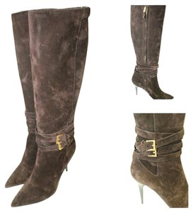 Burberry Chocolate Brown Boots