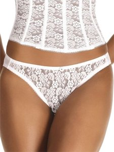 Dominique Dominique Coordinated Lace Brief 549 Ivory Size M