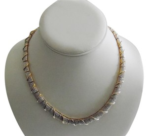 Technibond Diamonds in Technibond Diamond-Accented Necklace `