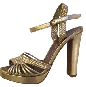 Moschino Gold / Champagne Sandals