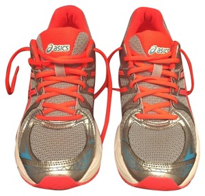 Asics Runnings Running Tennis Shoe Coral Athletic
