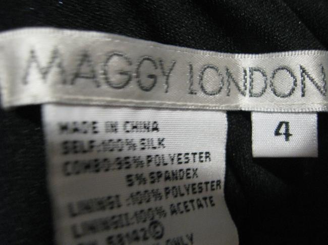 Maggy London short dress blue/green/black on Tradesy