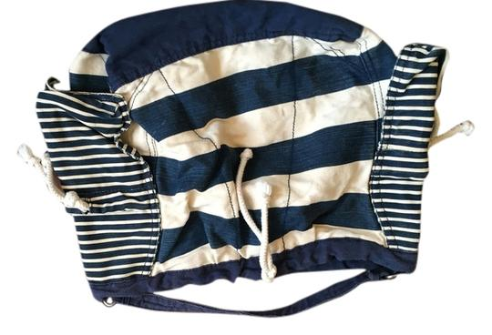 Gap blue and white stripe Beach Bag