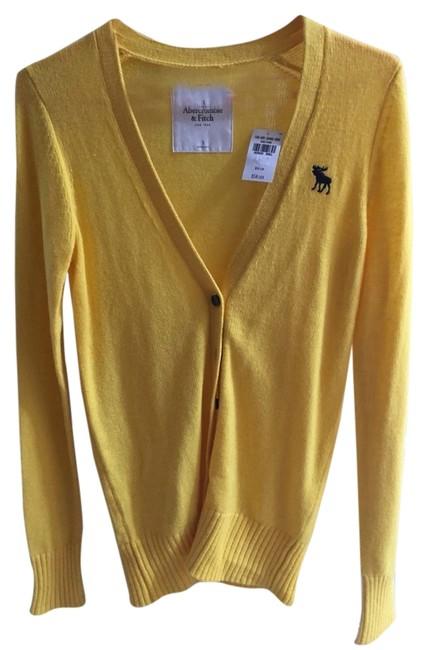Preload https://item2.tradesy.com/images/abercrombie-and-fitch-yellow-cardigan-size-4-s-4080571-0-1.jpg?width=400&height=650
