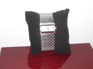 Pippo Perez Italia Luxury , Swiss Made, Stainless Still, and Diamonds, Wide Bracelet Watch.