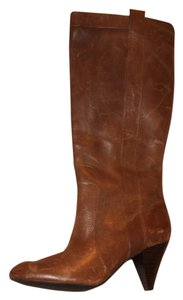 INC International Concepts Leather Tall Size 9 9 Brown Boots