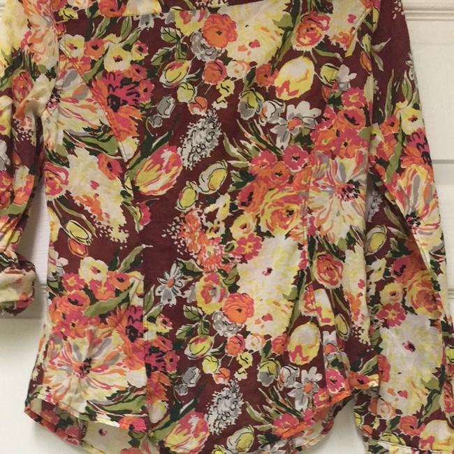 Old Navy Button Down Shirt Multi